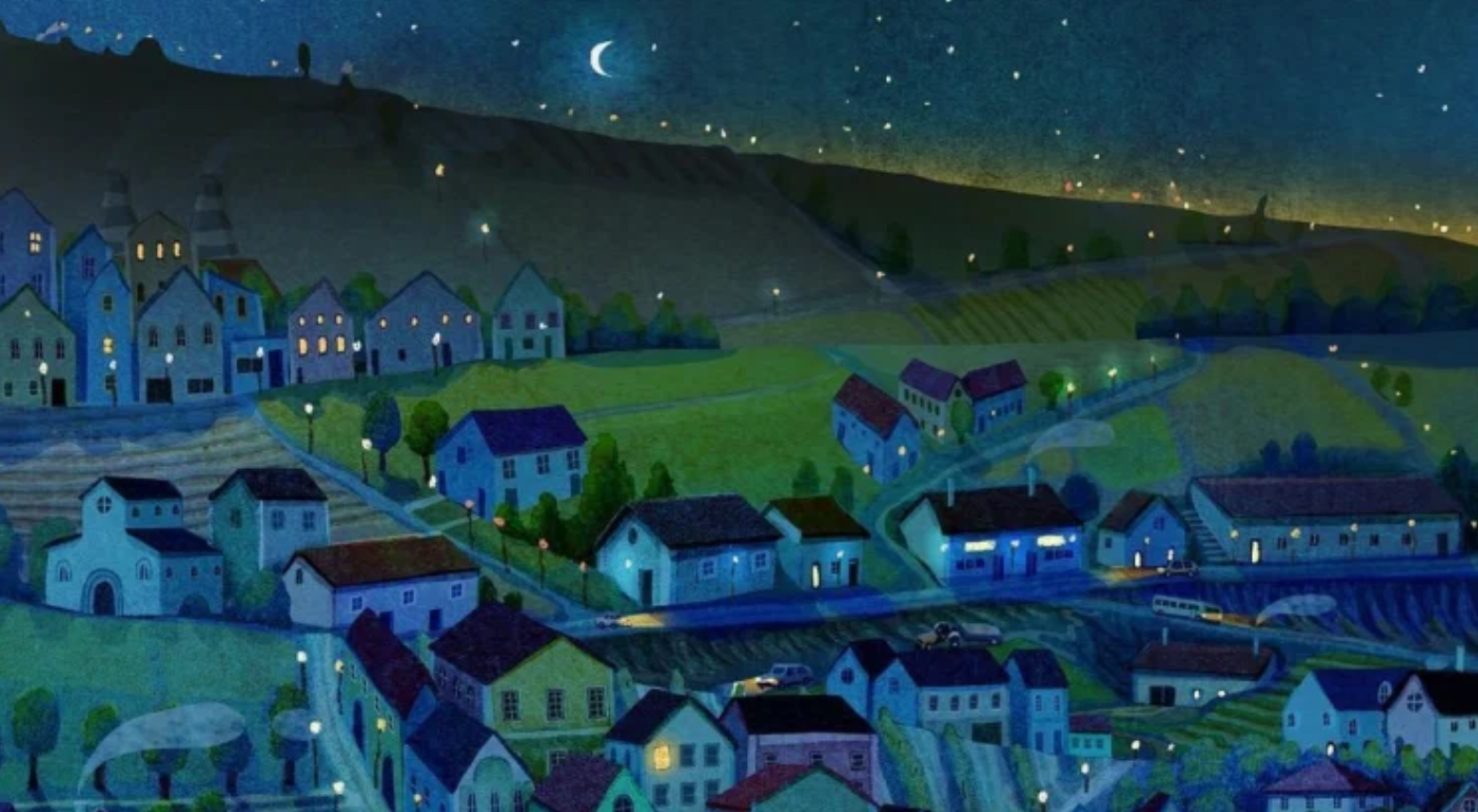 Nothing passes from rest to motion - unless you move it in hidden ways starry night cosy