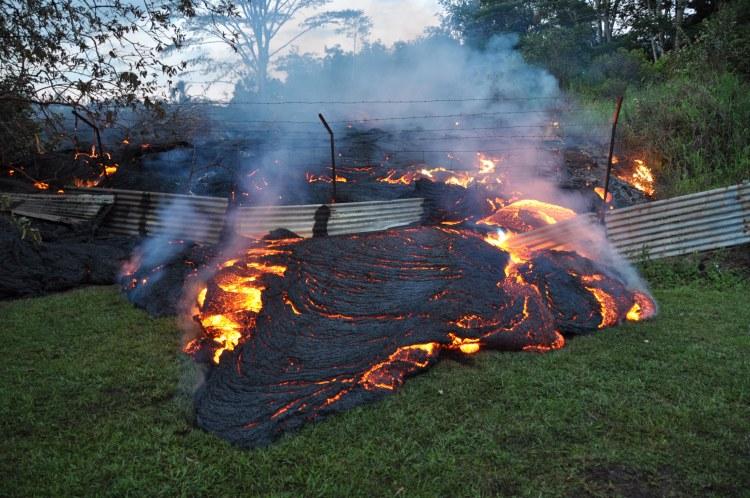 Another Hawaiian town succumbs to lava