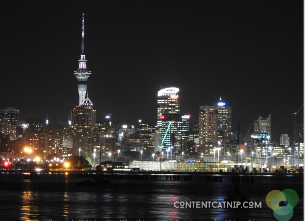Every Picture Tells A Story: Auckland by Night Part 2