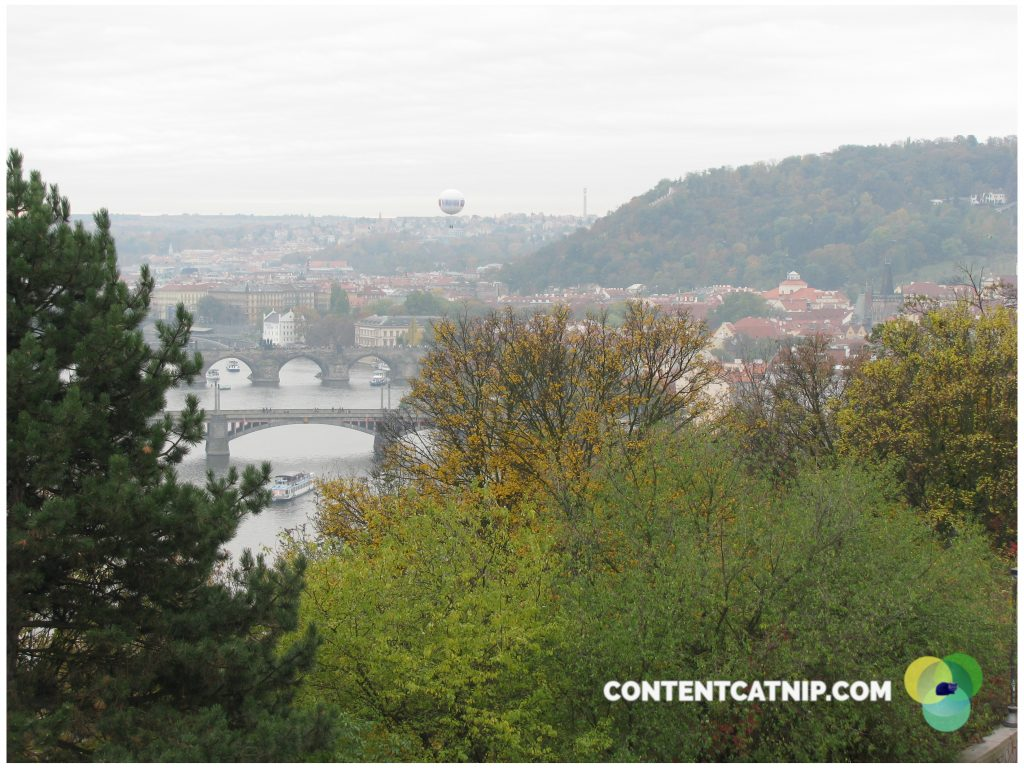 A sublime and reflective view of Prague as the leaves bloom in fiery amber and gold. Copyright 2009, Content Catnip.