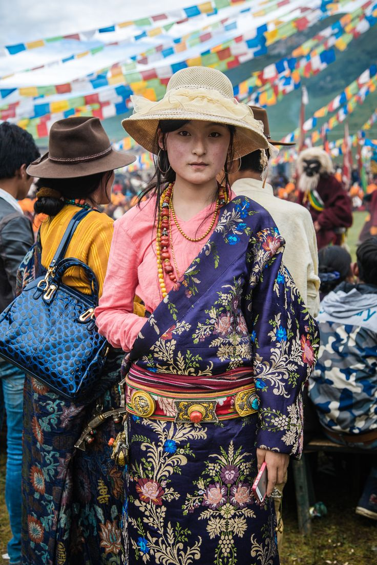 Every Picture Tells A Story: Young Woman in Tibet