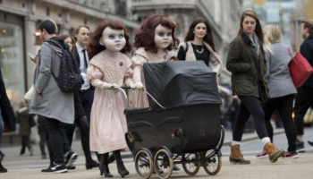 These creepy cute doll twins who terrorised London