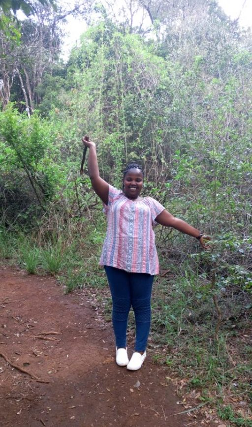 At Olulua Park, Nairobi Kenya