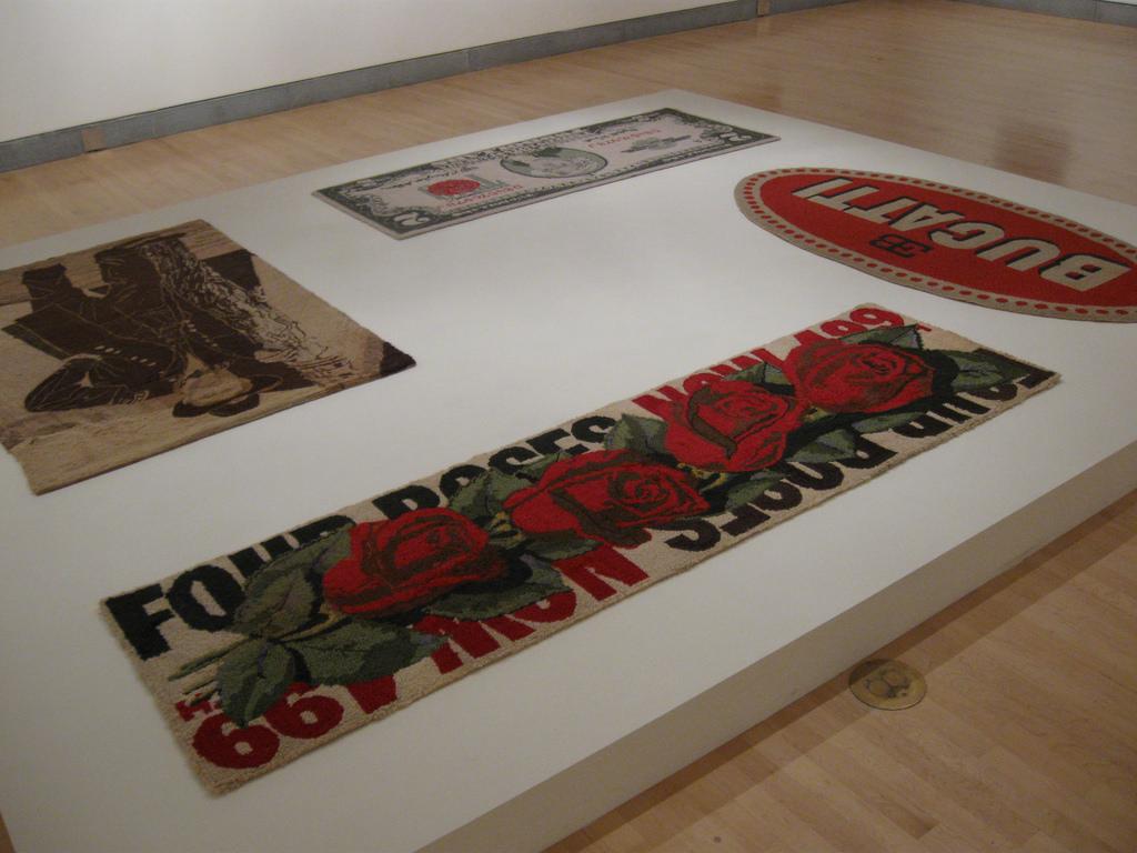Forgotten Pop Art Pioneer Dorothy Grebenak's Rugs Are Awesome