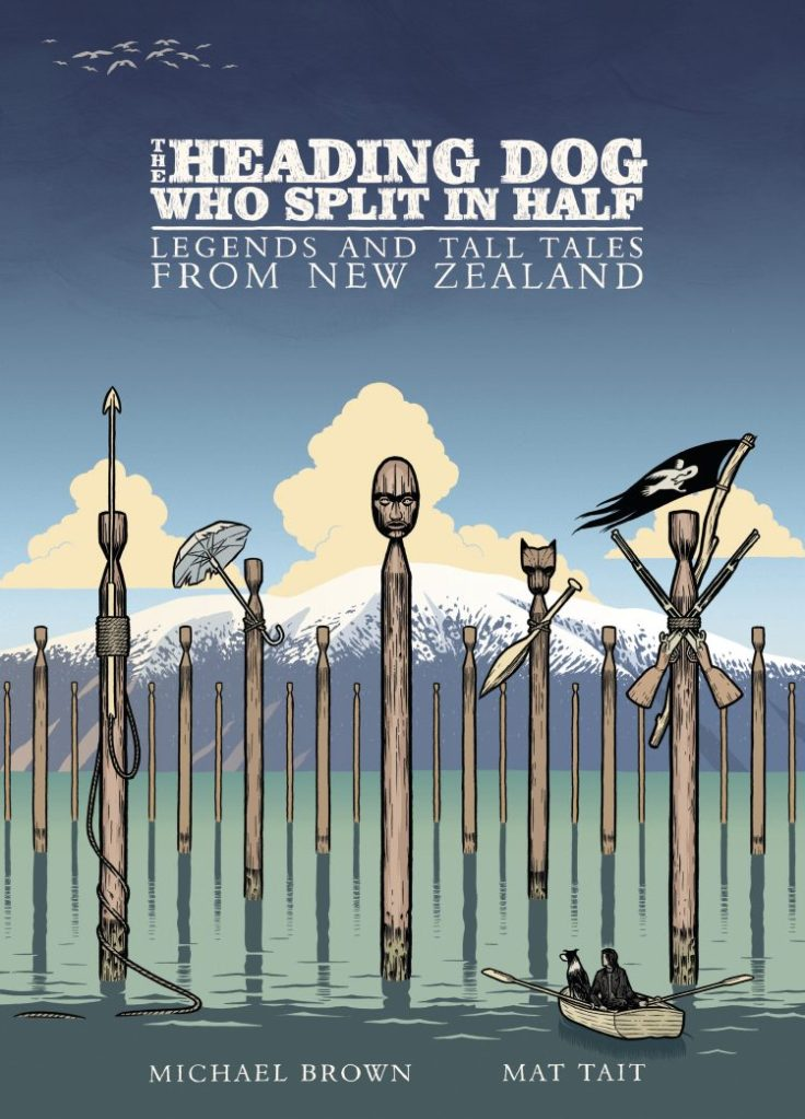 Book Review: The Heading Dog That Split in Half by Brown and Tait