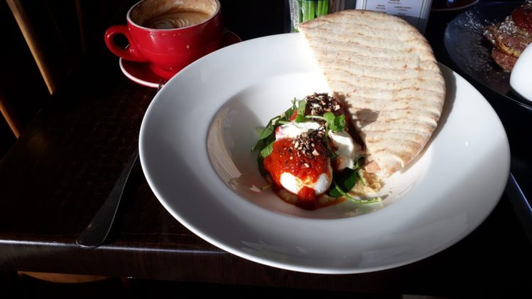 Turkish style eggs at Spoon and Paddle
