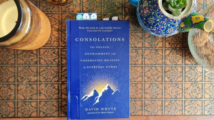 Book Review: Consolations:The Solace, Nourishment & Underlying Meaning of Everyday Words by David Whyte