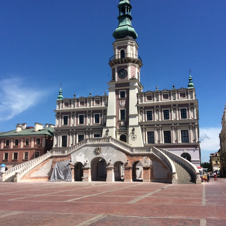 A trip to the Renaissance fortress and city of Zamość on a sunny summer weekend