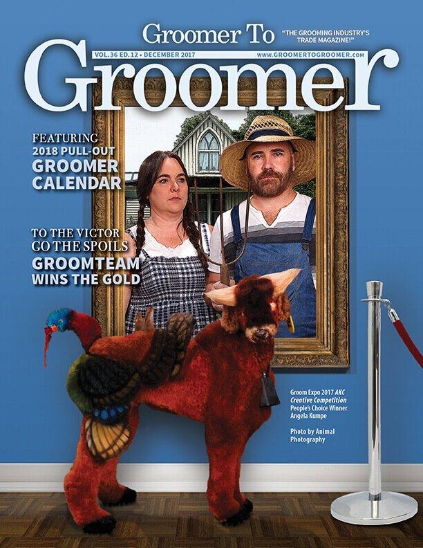 Dog groomer creepy - American Psycho edition