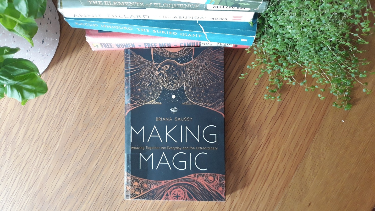Book Review: Making Magic by Briana Saussy