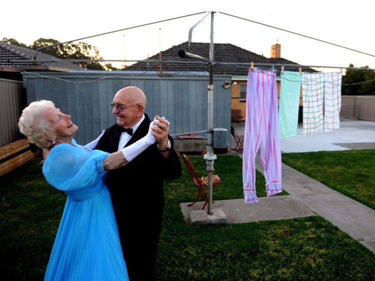 Every Picture Tells A Story -Dancing Friends in Bendigo, Australia