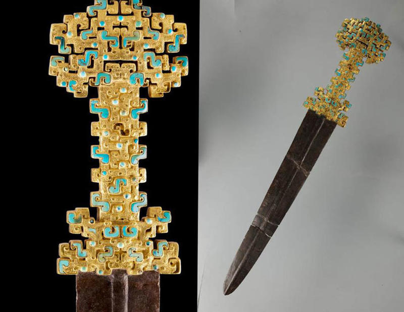 Check out this exquisite and ornate Chinese sword!