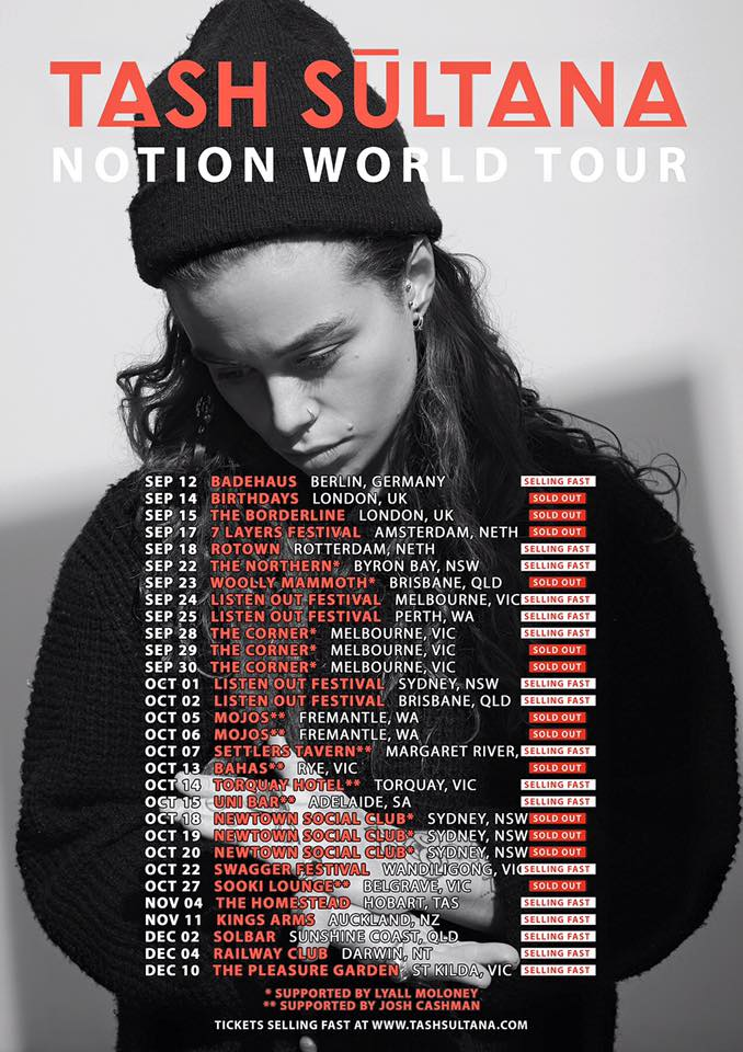 EP Review: Notion by Tash Sultana (2016)