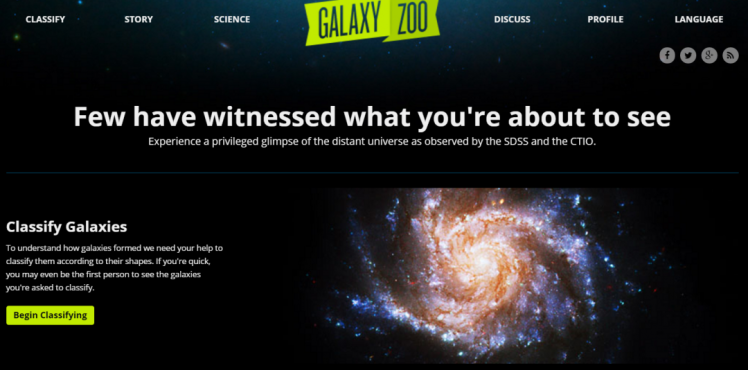 Explore and classify galaxies for real scientific studies