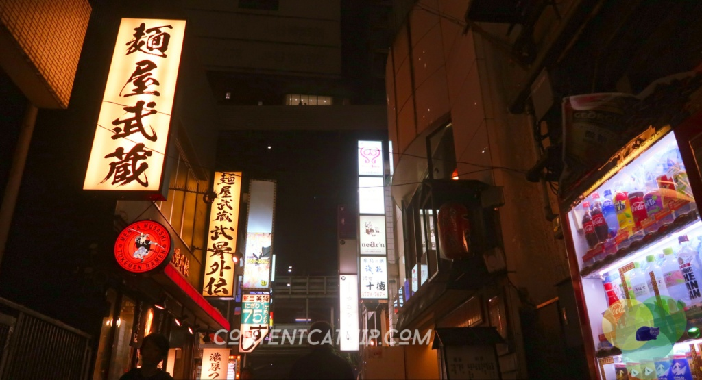 Signs in Shibuya, Tokyo Copyright © Content Catnip 2018 www.contentcatnip.com