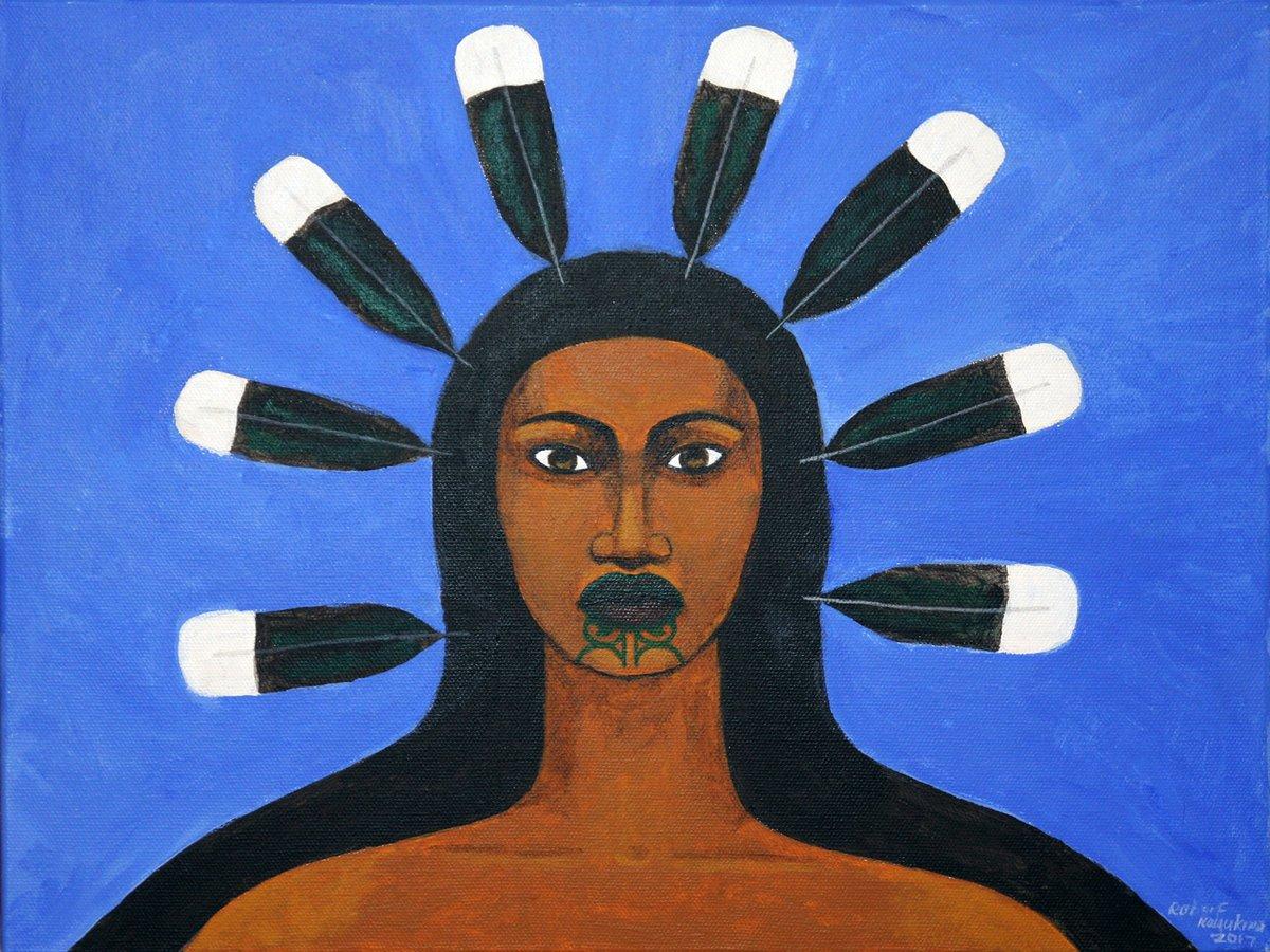 Every Picture Tells A Story: by Maori Goddess Taranga by Robyn Kahukiwa