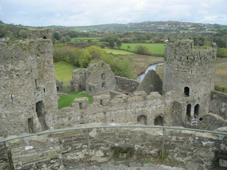 Travel: Exploring Ancient Kidwelly Castle in Wales