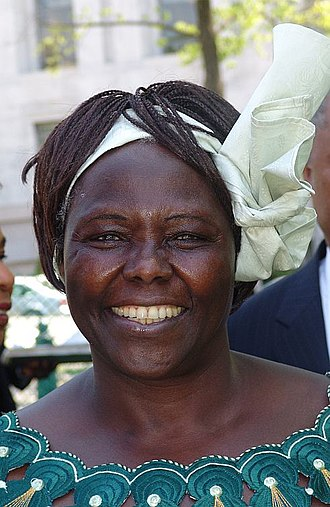 Wangarĩ Muta Maathai (/wænˈɡɑːri mɑːˈtaɪ/; 1 April 1940 – 25 September 2011) was a renowned Kenyan social, environmental and political activist and the first African woman to win the Nobel Prize
