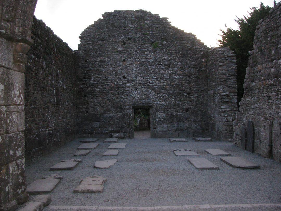 Exploring early mediaeval churches in Eirann