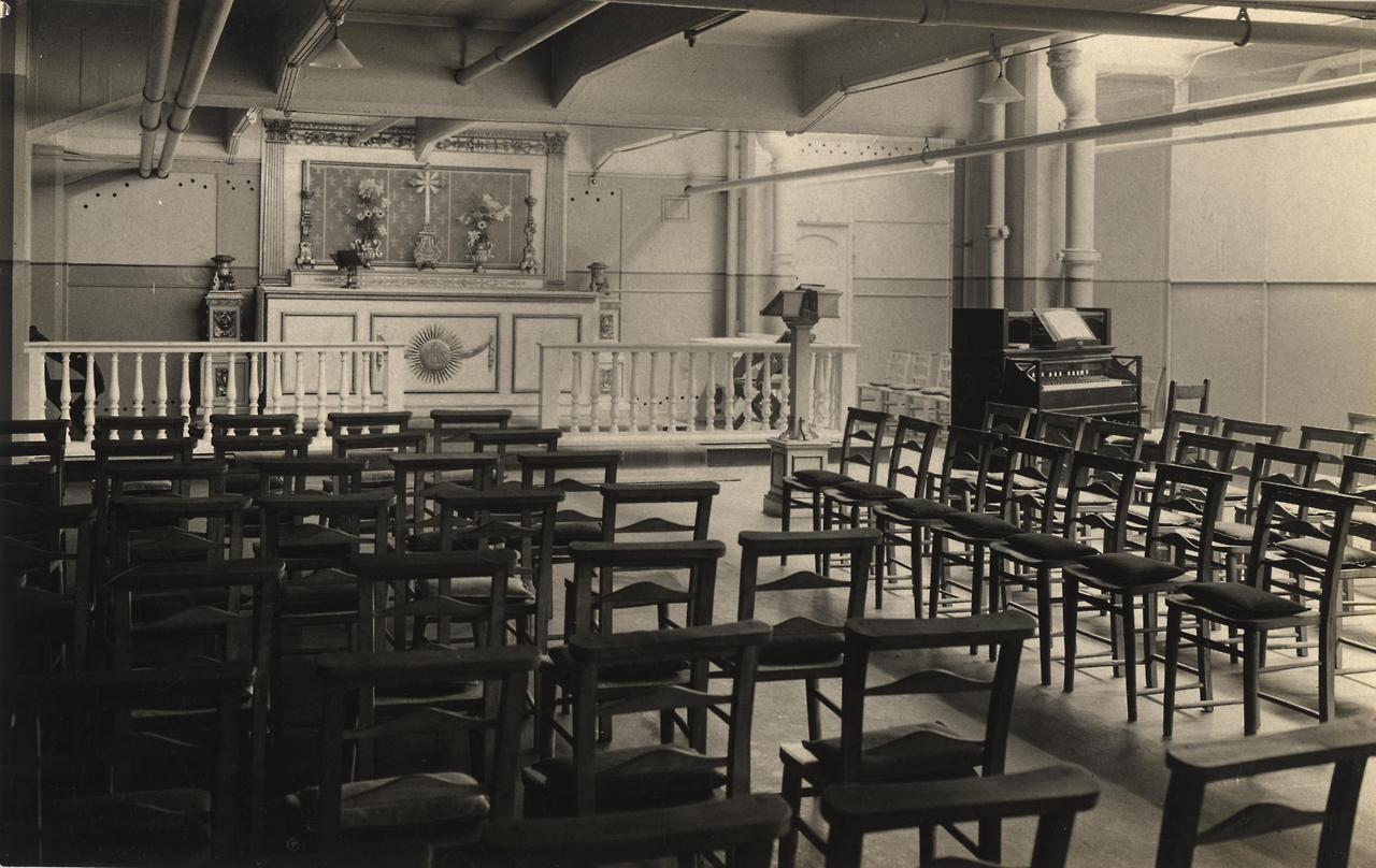Every Picture Tells A Story: King George Military Hospital Chapel, 1915.