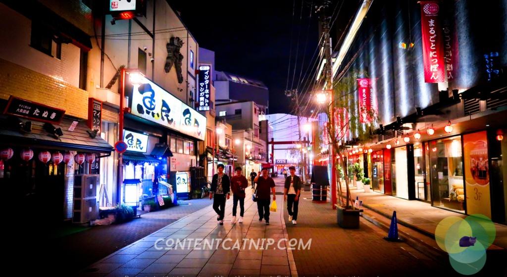 Japanese streets