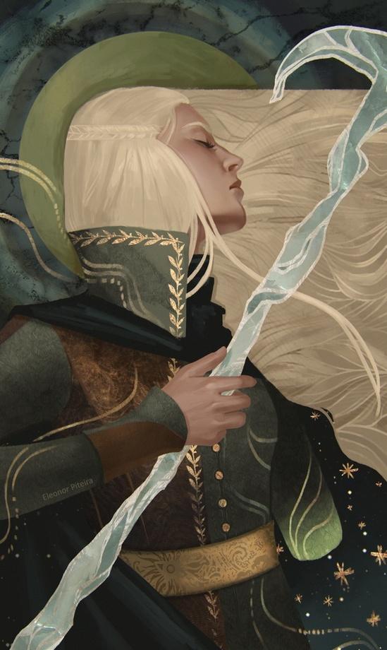 Lyra Trevelyan, Inquisitor by Eleonor Piteira