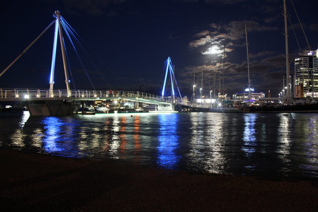 A Full Moon in Scorpio: Culinary Adventures and Moonlit Walks Around Auckland Harbour