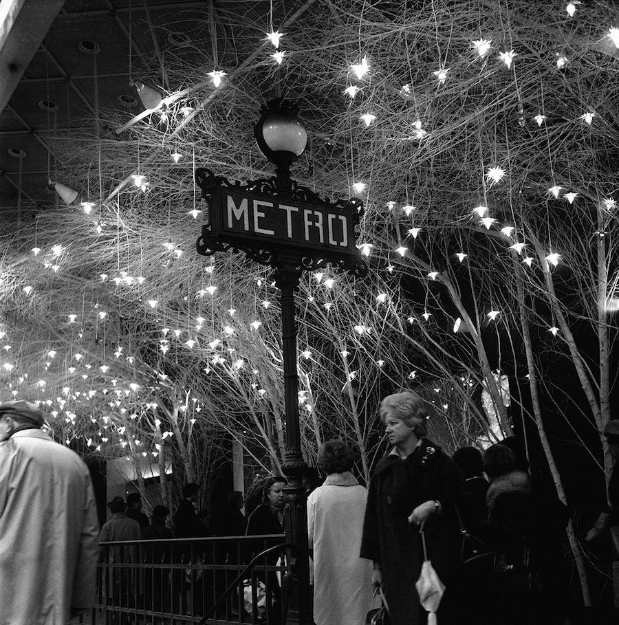 The Paris Metro After Dusk