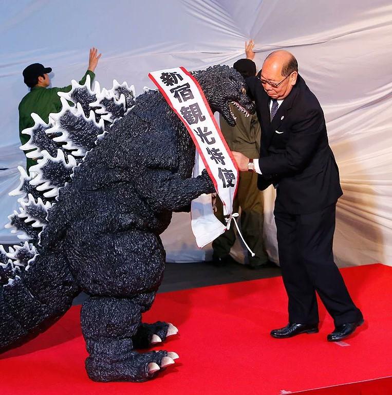 Godzilla finally gets granted a Japanese citizenship