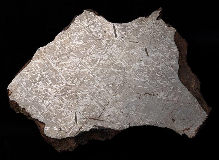 meteorite section