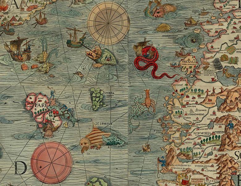 Olaus Magnus's Carta marina of 1539