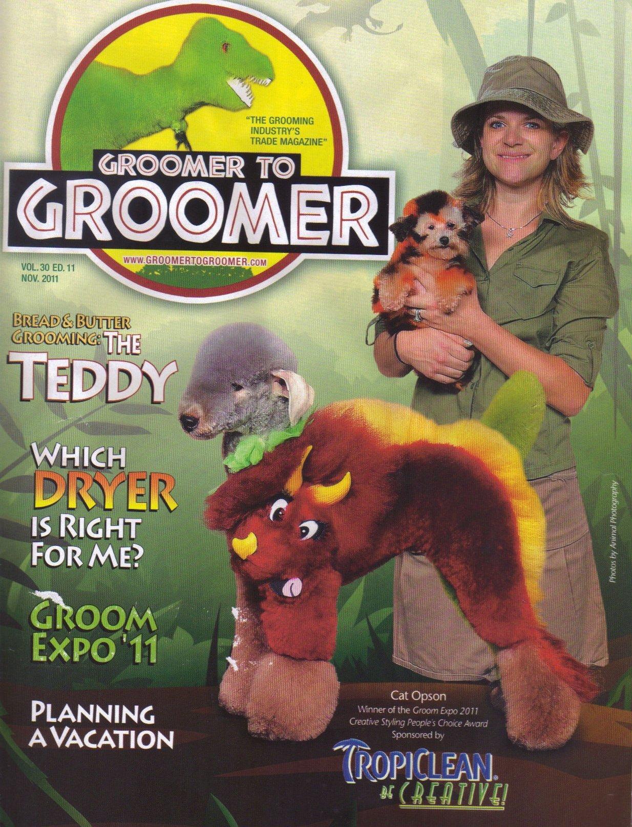 Dog groomer creepy - Jurassic Park cosplay