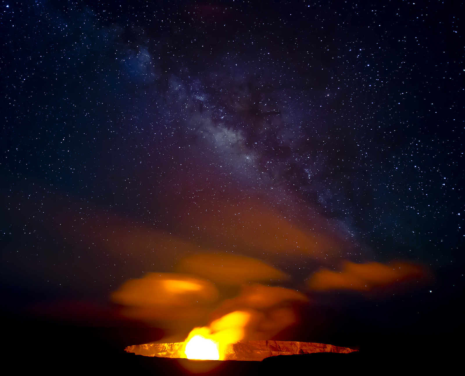 Hawaii's Volcanic spectacle and Pele the Fire Goddess