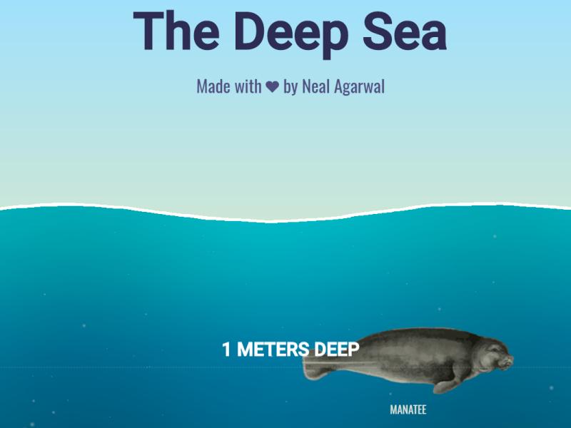 Amazing Website Alert: The Deep Sea