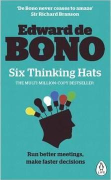 Book Review: Six Thinking Hats by Edward De Bono
