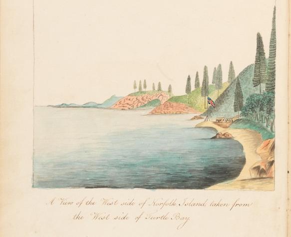 Unseen Art from Australia's First Fleet http://wp.me/p41CQf-8h