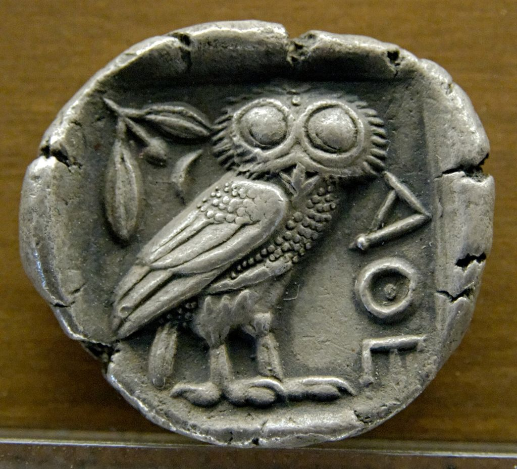 Ancient word of the day: Athene Noctua or Athena's Owl