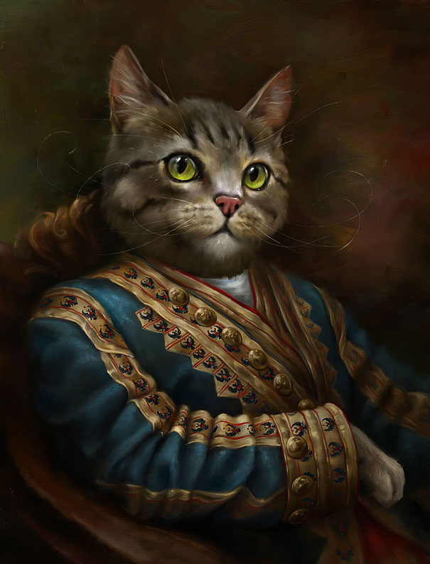 The Hermitage Court Outrunner Cat by Eldar Zakirov