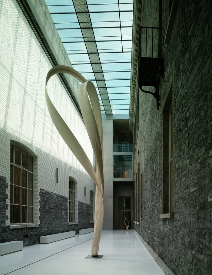 The courtyard of the National Gallery of Ireland