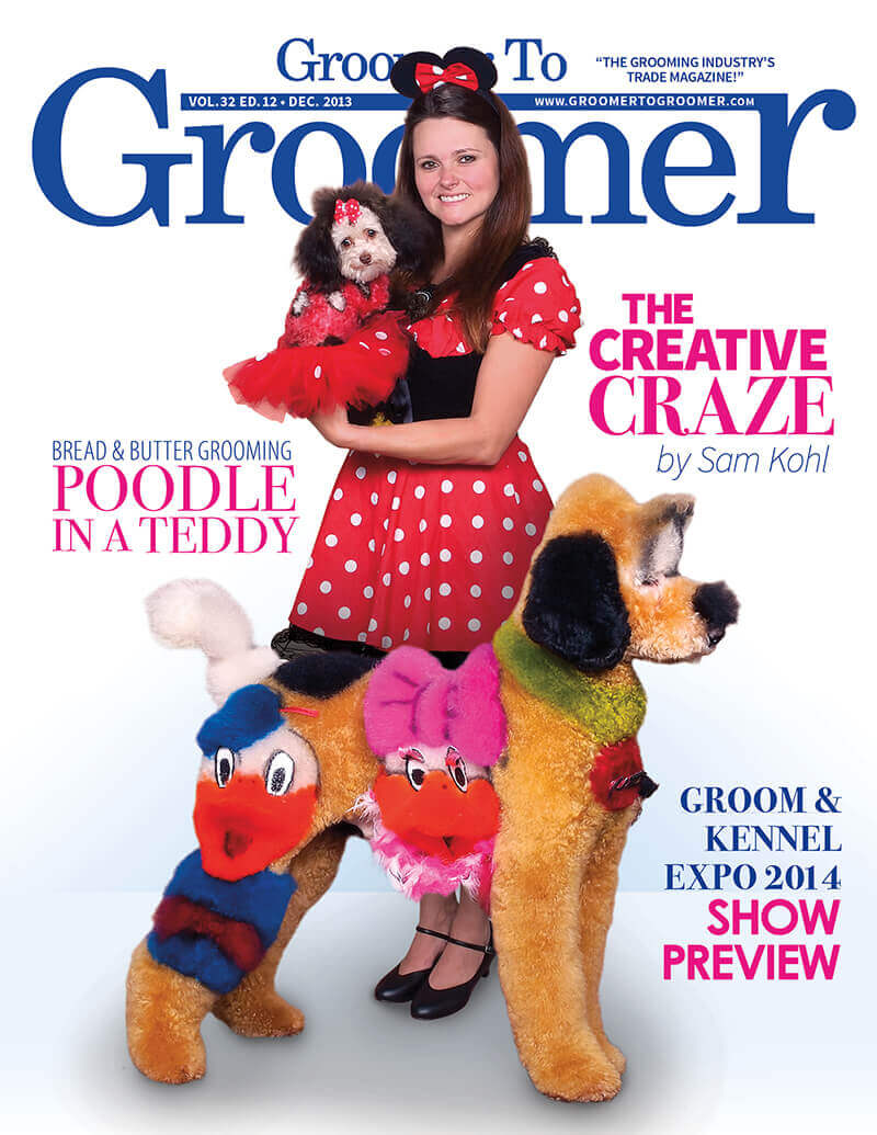 Dog groomer creepy - Cartoon madness