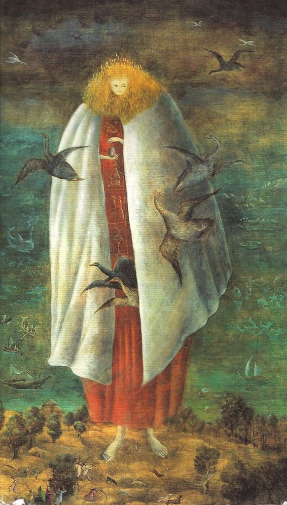 The Giantess (The Guardian of the Egg) by Leonora Carrington 1947