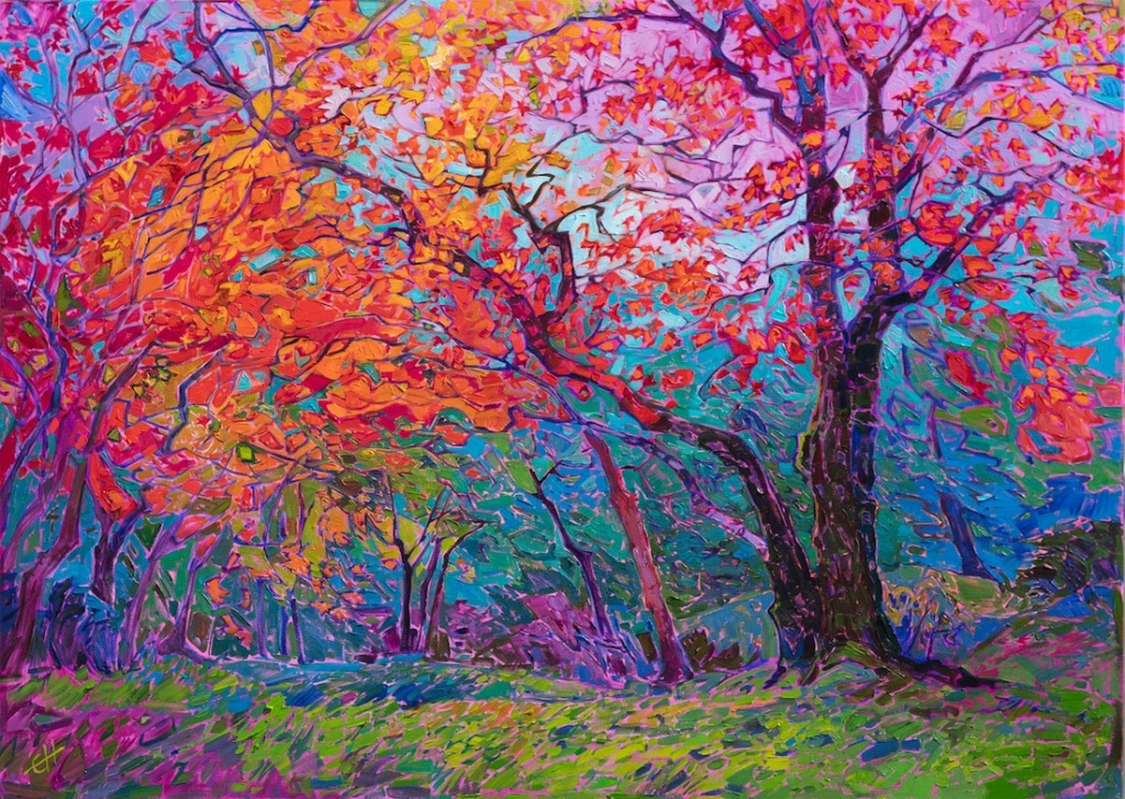 Maple Colour by Erin Hanson (2019)