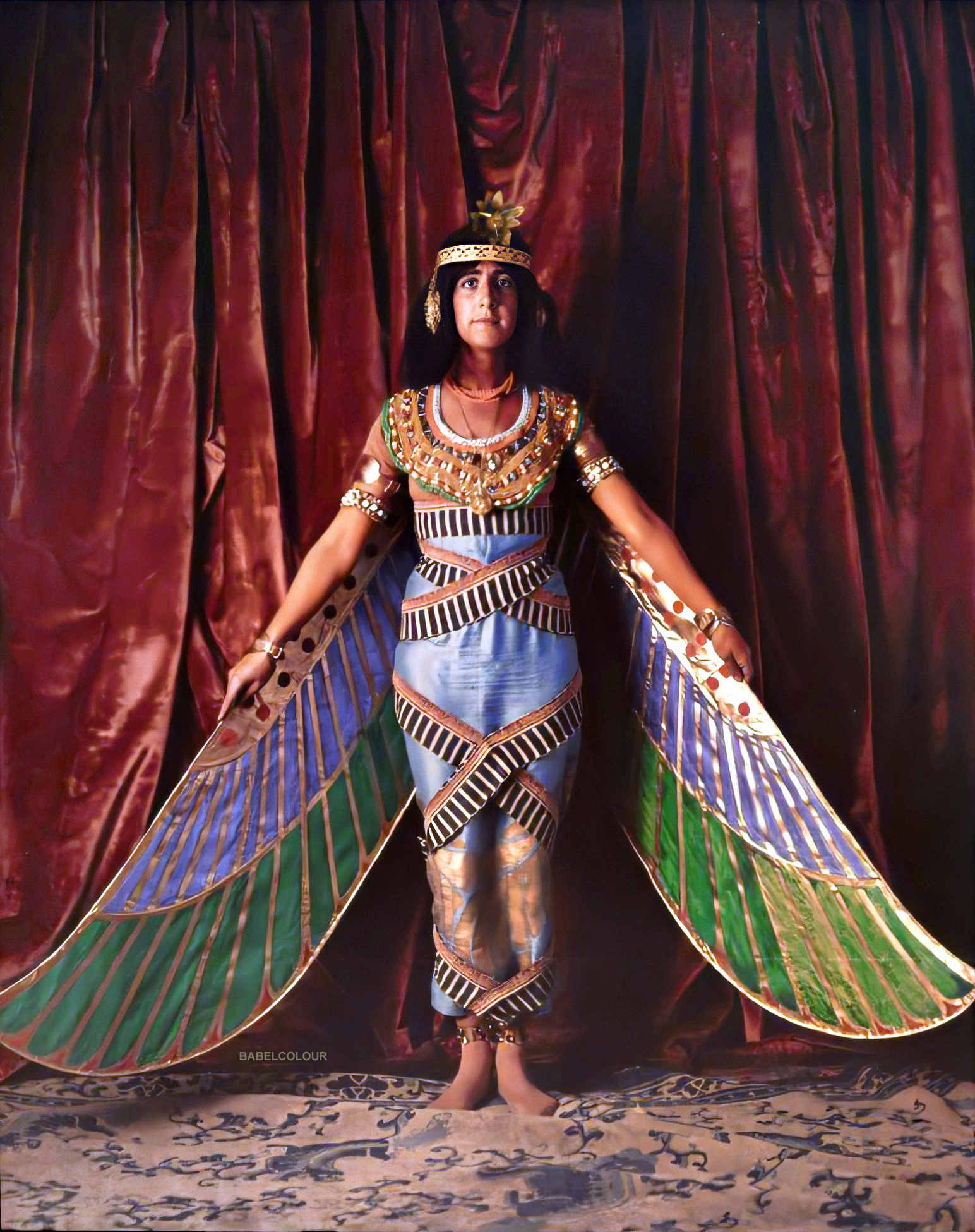 The mystical beauty of an Ancient Egyptian daughter of Osiris (1913)