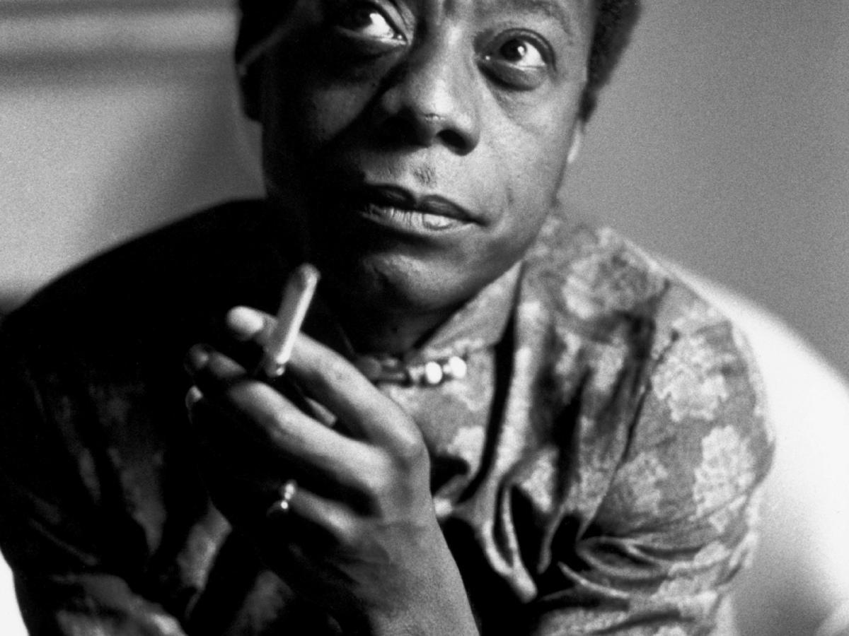 James Baldwin, France, 1970