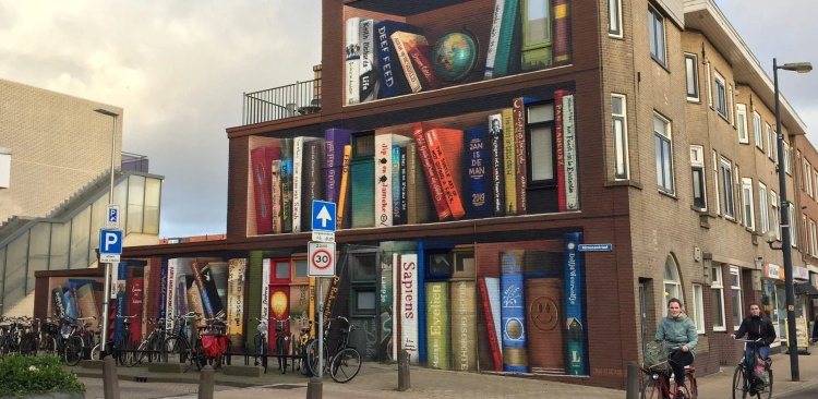 The ultimate book shop in the Netherlands