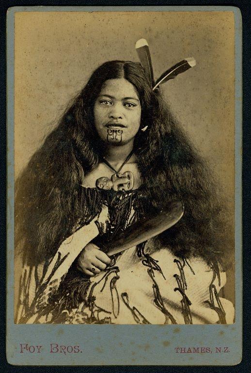 Mana Wahine: The Female Moko in Māori Culture