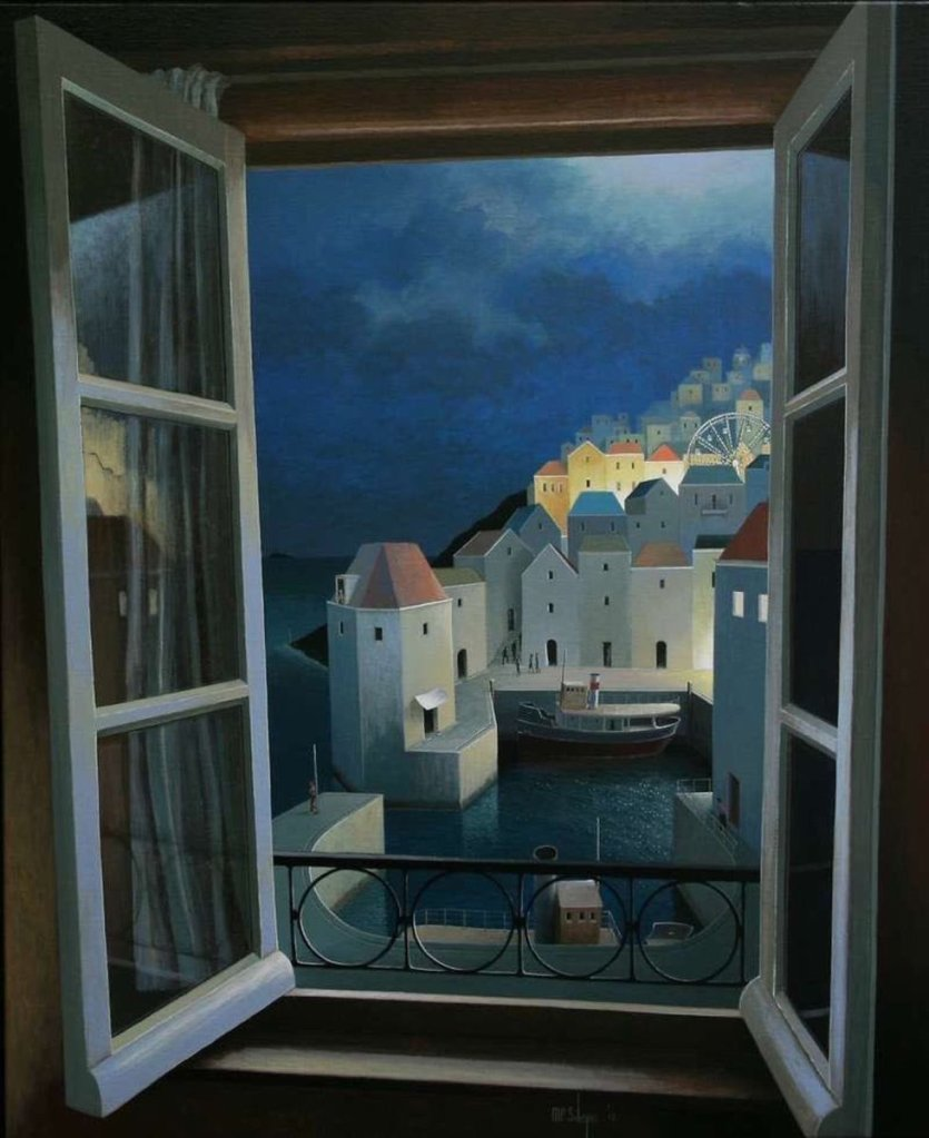 Entrance to the Night by Michiel Schrijver Michiel Schrijver