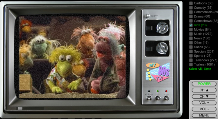 Retro TV Channels from the 70's, 80's and 90's are on the internet for all posterity