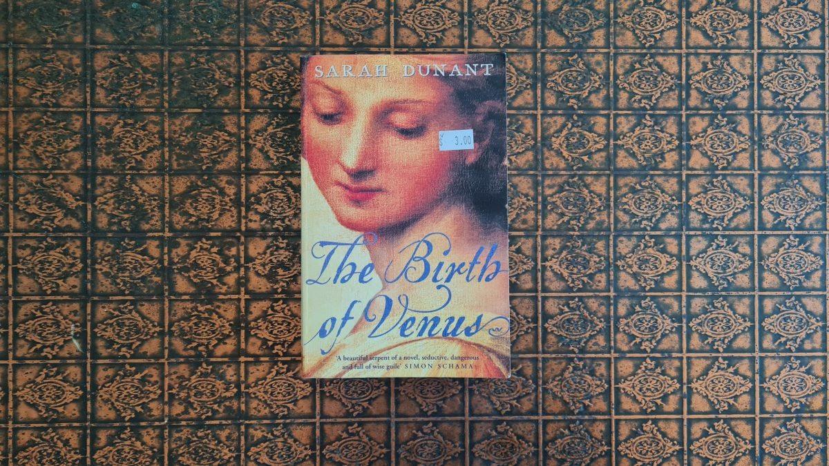 Book Review: The Birth of Venus by Sarah Dunant