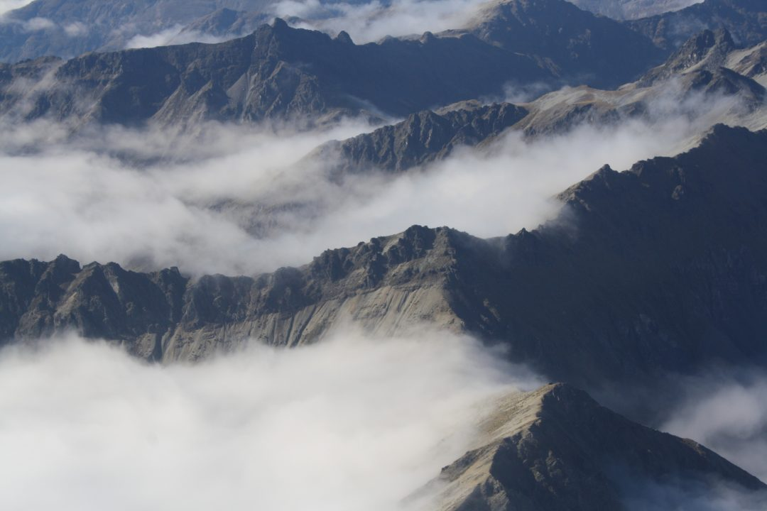 Every Picture Tells a Story: Queenstown from the air